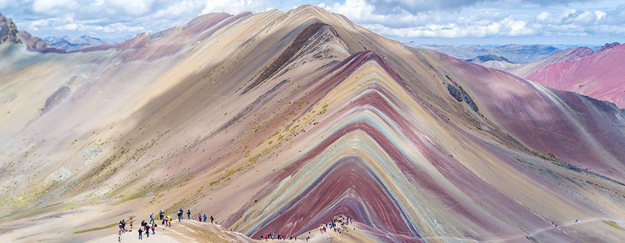Rainbow Mountain Hike 1 Day Trip from Cuzco